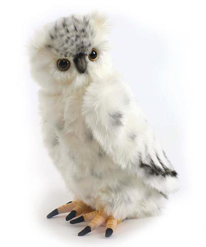 Полярная сова, 33см.Полярная сова. Размер игрушки 33см. Торговая марка Hansa стала широко известной и популярной уже практически во всем мире. Размеры в натуральную величину потрясают, а качество материала придает игрушкам натуральное сходство с настоящими животными. При помощи игрушек Hansa можно создавать различные интерьерные образы в детских, студиях и «живых уголках».<br>