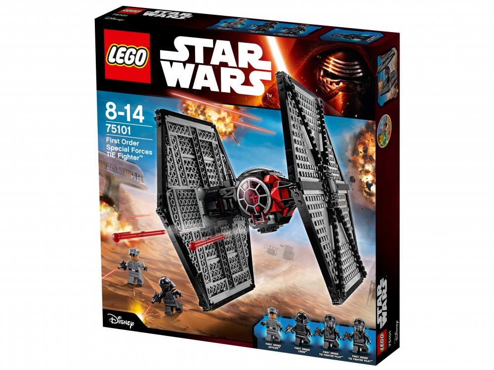 Конструктор Lego Star Wars 75101 Истребитель особых войск Первого Ордена lego конструктор lele истребитель особых войск первого ордена аналог 75101