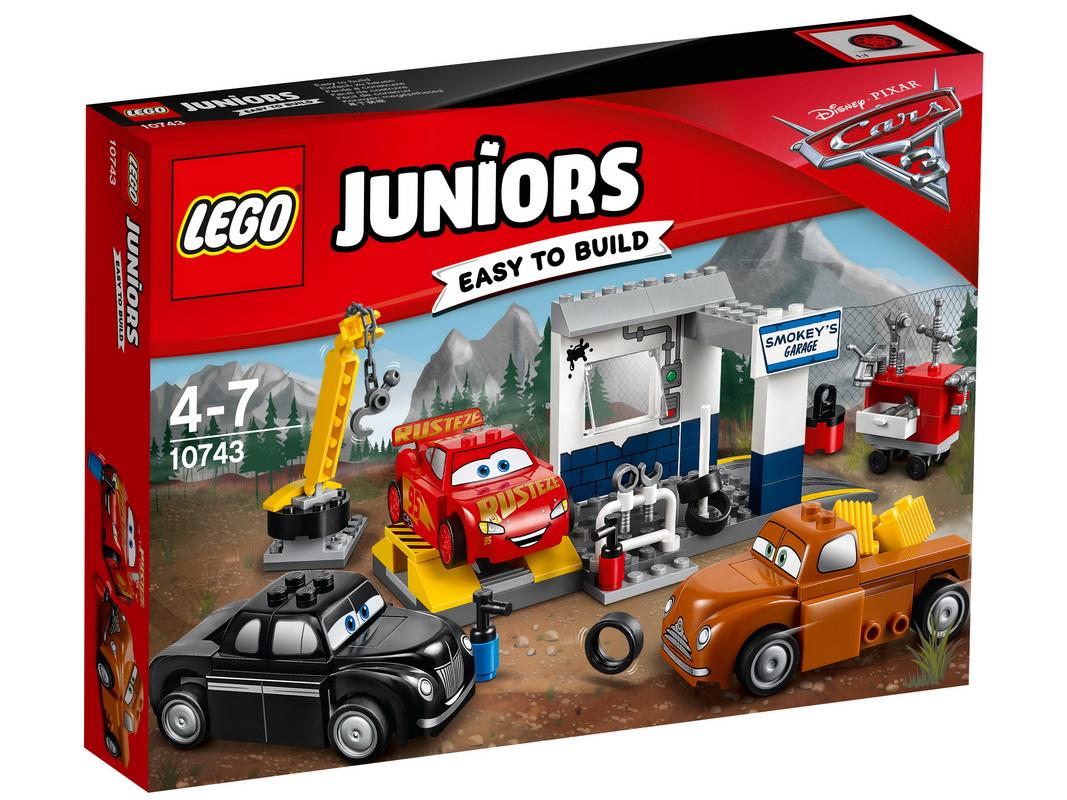 все цены на  Конструктор LEGO Juniors 10743 Гараж Смоуки  онлайн