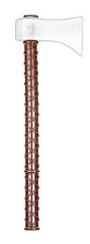 Индейский томагавк «Вождь племени Делаваров»Игрушечный томагавк дает представление об одноручном небольшом топорике, характерном для индейских племен Северной Америки. Сегодня томагавк является неотъемлемым атрибутом индейского воина практически в любом фильме о Диком Западе. Использовался также при возведении жилища, кораблестроении.<br>