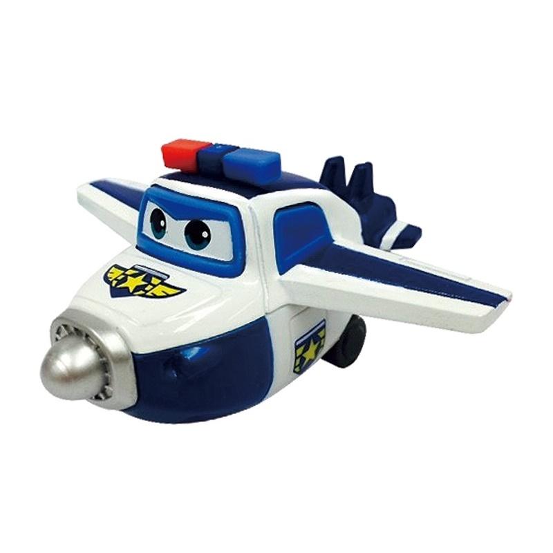 Металлический самолет Супер крылья - ПолДанная игрушка представляет собой металлический самолет по имени Пол, являющийся миниатюрной копией персонажа детского мультсериала Super Wings, или Супер крылья: Джетт и его друзья. Пол стоит на страже порядка и мгновенно оказывается в нужном месте. У игрушки подвижные шасси, а также проработанный дизайн.<br>