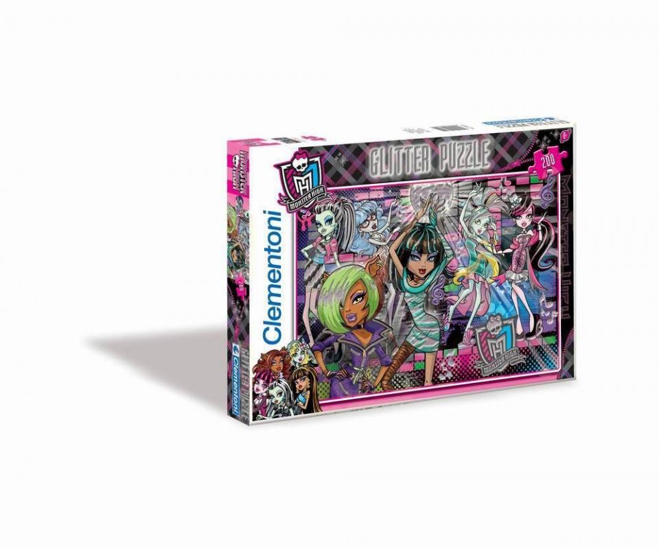 Clementoni Пазл Монстр Хай Вампиры хотят повеселиться, блестящий, 200 эелементовБлестящий пазл Monster High «Вампиры хотят повеселиться» станет полезным и интересным подарком, который по достоинству оценят все поклонники Школы монстров. Яркие краски, красивые героини мультика – вы не найдете более увлекательное занятие.Обучение и играПазлы – веселая игра, которая помогает развить моторику рук, наблюдательность, усидчивость и прочие крайне важные для ребенка качества. К тому же восстановление картинки поможет весело и увлекательно проводить время всей семьей. Игра упакована в красивую красочную коробку и может быть хорошим подарком.Купить пазл «Вампиры хотят повеселиться» можно на нашем сайте в режиме онлайн. Для этого нужно оформить заказ и выбрать удобную форму доставки и оплаты.<br>