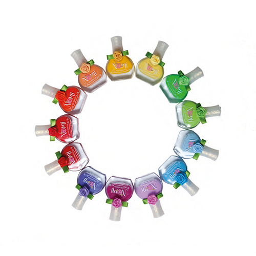 Лак для ногтей Nomi Солнечный зайчикСостав лаков Nomi специально разработан для девочек старше 5 лет и абсолютно безопасен для здоровья. Каждый лак упакован в блистер, соответствующий цвету лака. С ароматом клубники. Устойчивая формула, не смывается водой.<br>