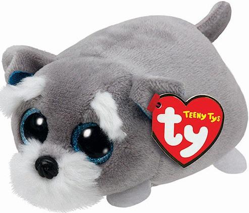 Мягкая игрушка Ty Teeny Tys Щенок Jack, 10 см.Данная мягкая игрушка от бренда Ty Inc из серии Teeny Tys - это одиннадцатисантимеровый забавный щенок Jack серого цвета с огромными глазами. Необычное строение тела игрушки позволяет использовать ее даже в качестве подушки. Коротенькие лапки щенка весьма подходят к общему стилю мягкой игрушки, поэтому данное плюшевое изделие может стать отличным подарком.<br>