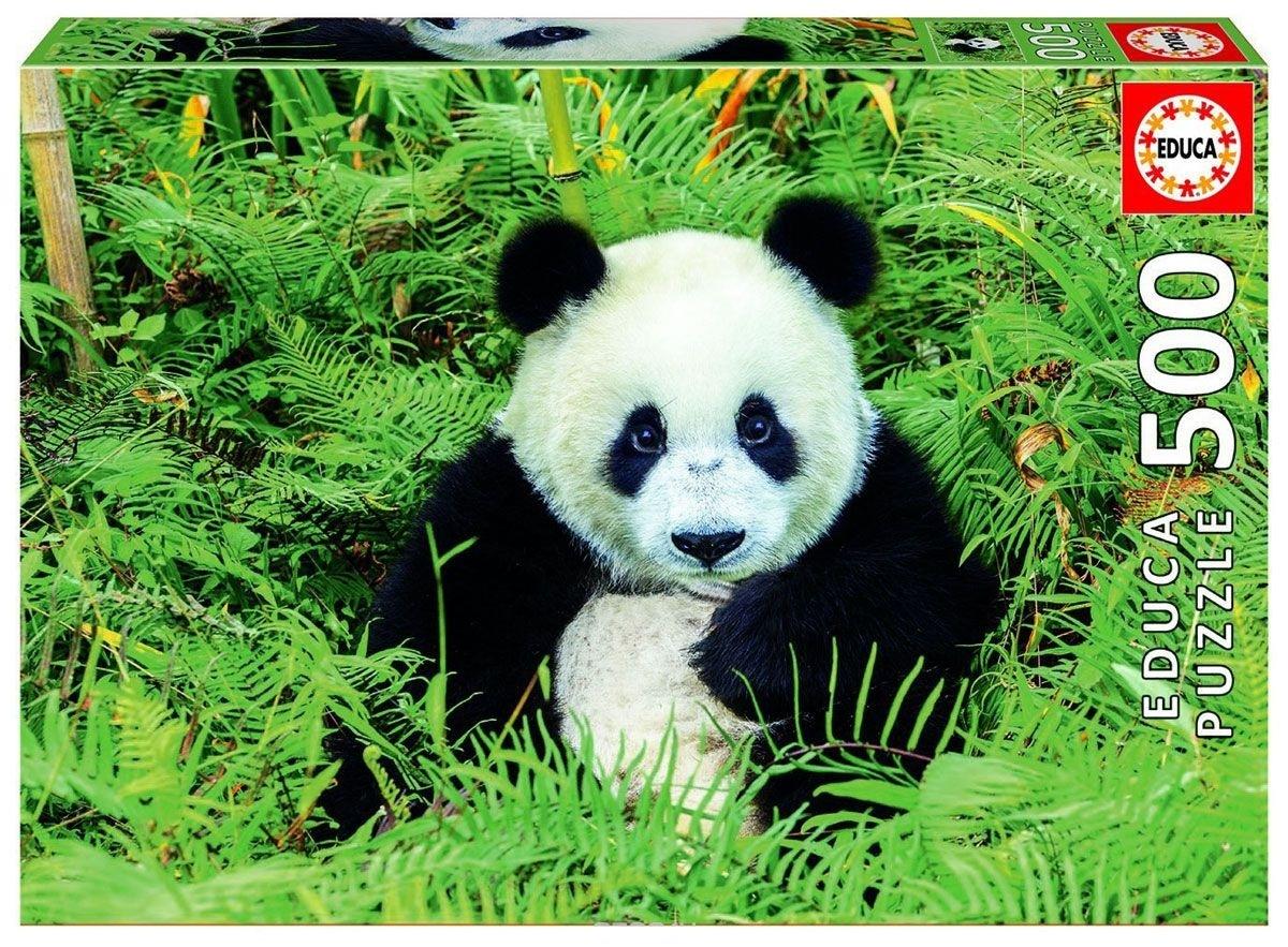 Купить Пазл 500 деталей - Панда