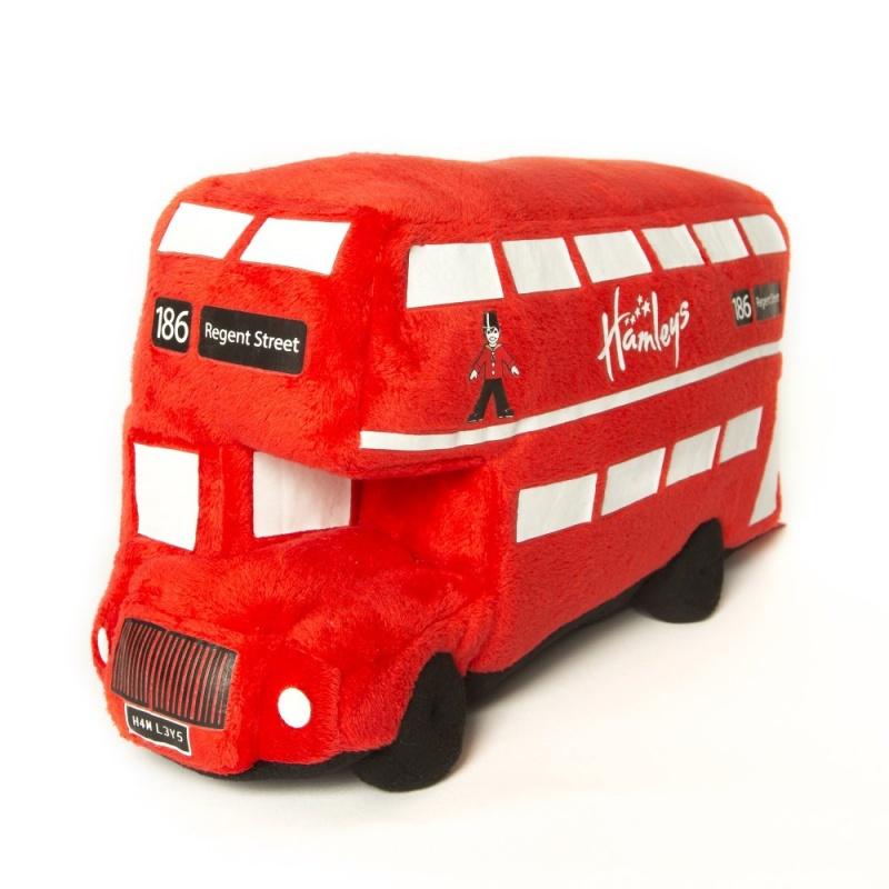 Игрушка плюшевая Hamleys Лондонский автобус 31см