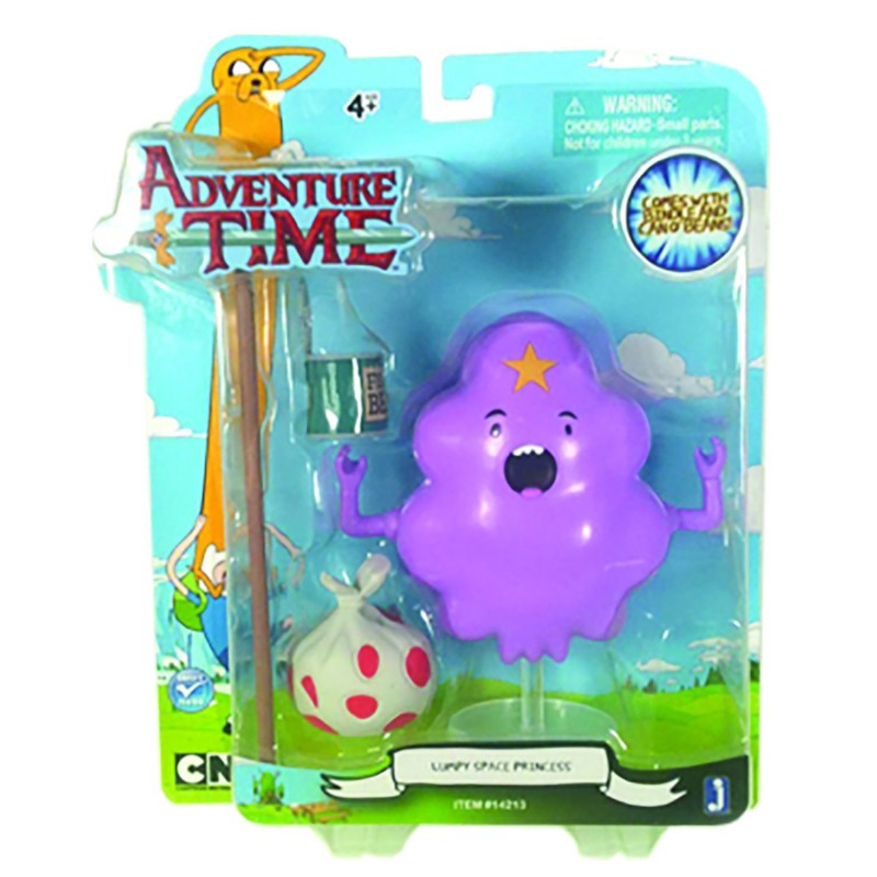 Фигурка Adventure Time - Lumpy Space Princess с аксессуарами (14см)