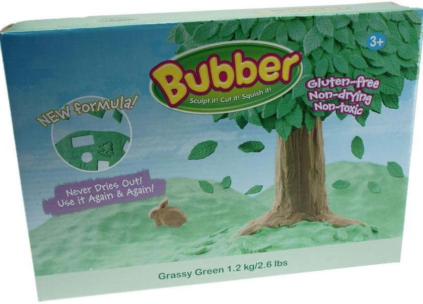 Масса для лепки Waba Fun Bubber, зеленая, 1200 гр. песочница надувная waba fun