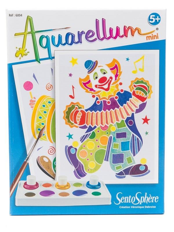 Набор акварельных красок  &quot,Клоуны&quot,