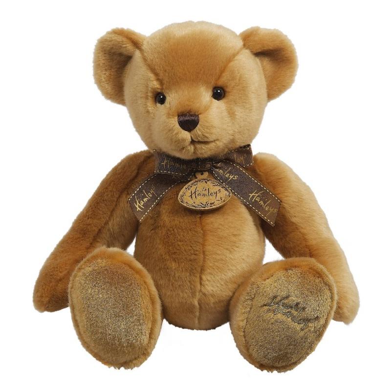 Игрушка плюшевая Hamleys Медведь Ореховый 27см мягкая игрушка медвеженок тэди