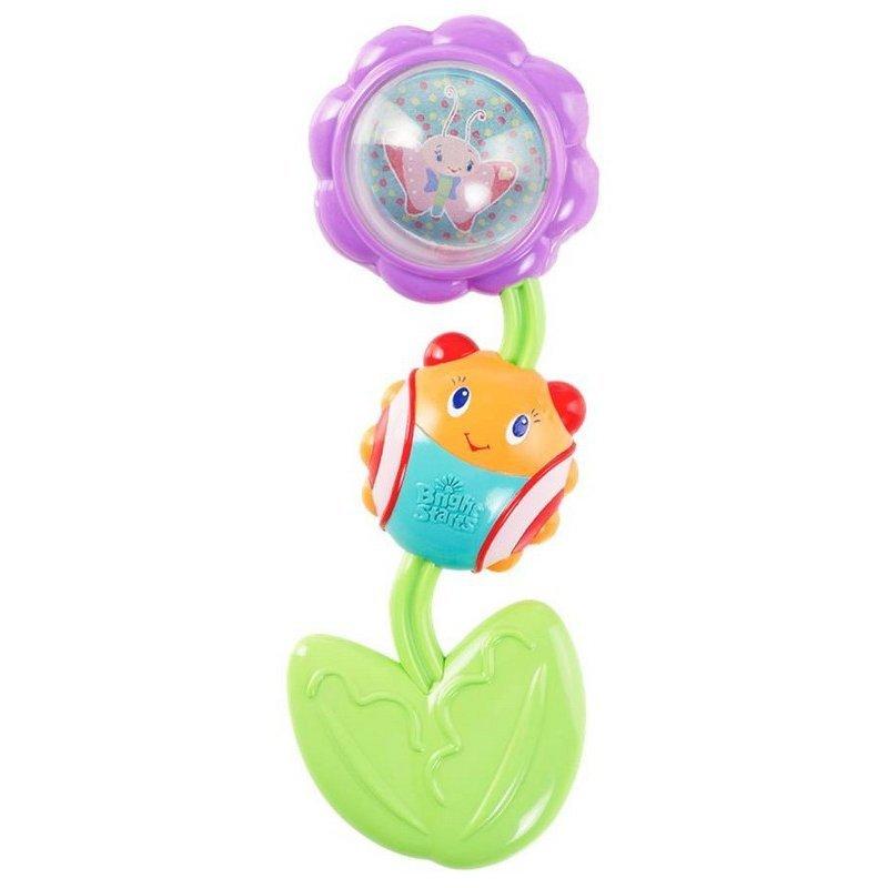 Развивающая игрушка-прорезыватель «Божья коровка на цветочке»Развивающая игрушка-прорезыватель Bright Starts Божья коровка на цветочке успокоит нежные десны малыша! Игрушка предназначена для детей с рождения. Особенности: Цветочек и листочек вращаются и издают щелкающие звуки; Рельефный мягкий листочек успокоит десны малыша; Покрутите шарик внутри цветочка, чтобы увидеть зеркало и милых персонажей; Легко держать маленькими ручками.<br>