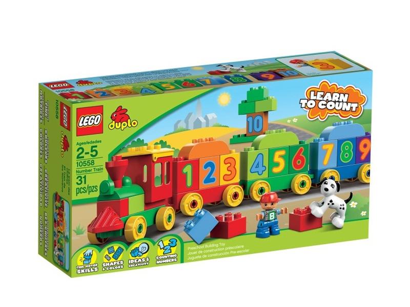 Конструктор Lego Duplo 10558 Считай и играй duplo 10558 считай и играй