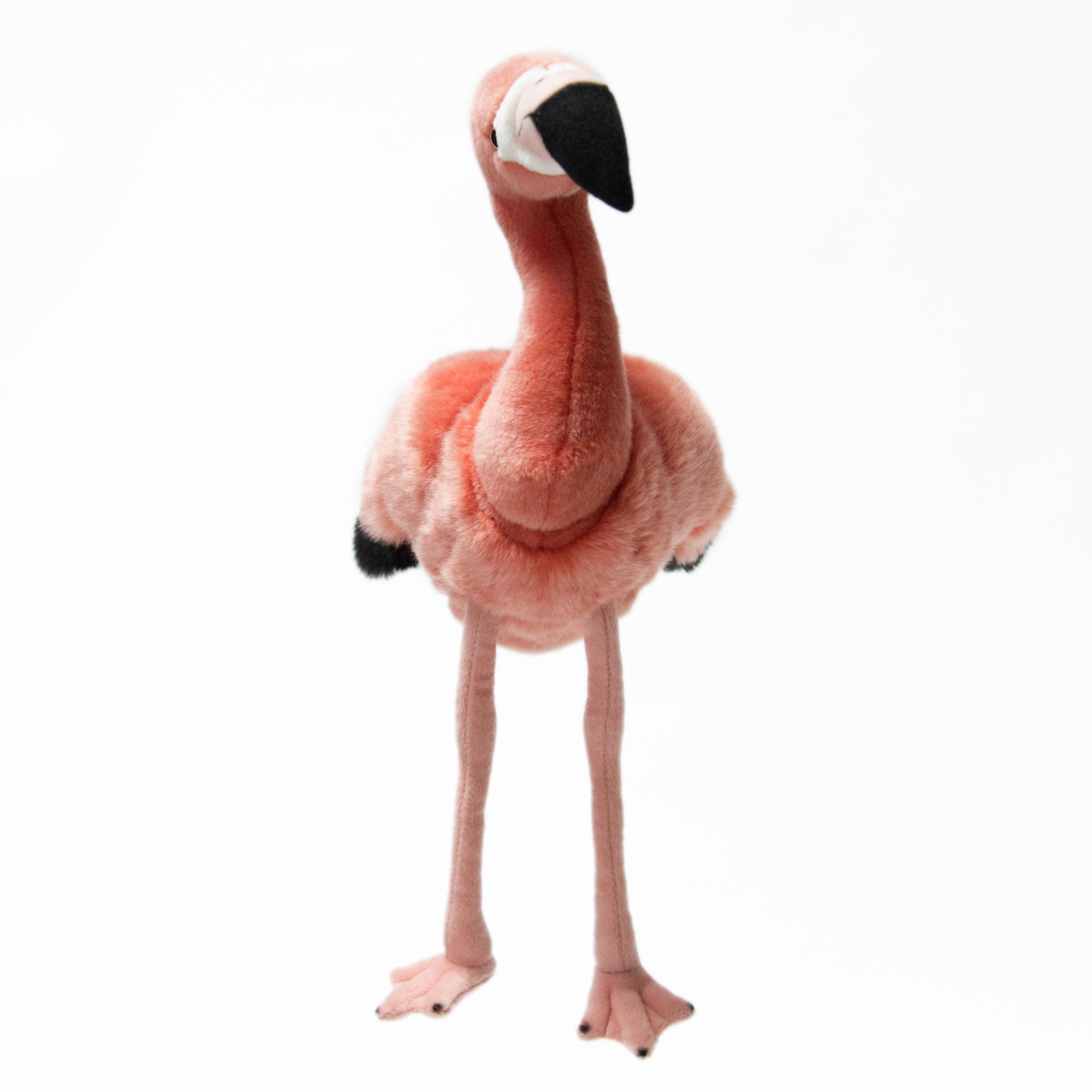 HM Игрушка плюшевая Фламинго клен розовое фламинго в спб где можно купить