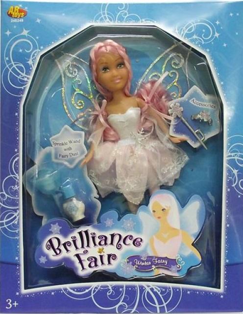 Кукла Funville Brilliance Fair с диадемой и волшебной палочкой кукла brilliance fair балерина 26 5 см