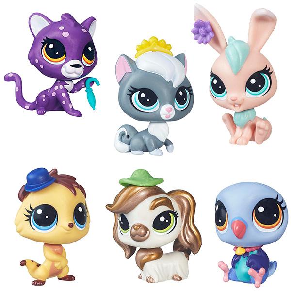 LPS Игрушка-зверюшка в ассортиментеНебольшие пластиковые фигурки различных зверюшек – отличный подарок ребёнку, который любит животных. С этими яркими красочными малышками можно играть, украшать аксессуарами, которые входят в комплект игрушки, коллекционировать. Их милые мордашки и большие выразительные глазки, обрамлённые пушистыми ресничками, вызывают чувство умиления как у детей, так и у взрослых. Собрав всю коллекцию зверят, можно создать персональный игрушечный зоопарк!В серии Pets in the City 6 различных фигурок – попугай, гепард, кролик, уникальная собачка с позолоченной шерсткой, котенок, сурикат (мангуст). У каждого из них - стильный аксессуар.<br>