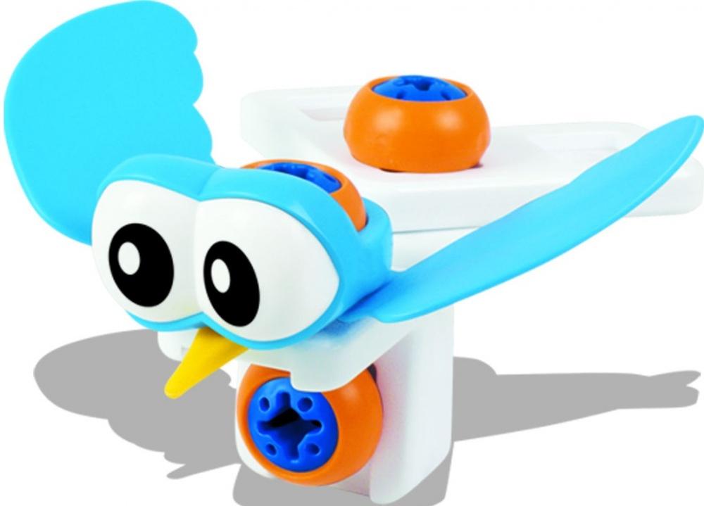 Мой первый конструктор Bebelot basic Пингвин, птичка, 3 в 1 игрушка для активного отдыха bebelot захват beb1106 045