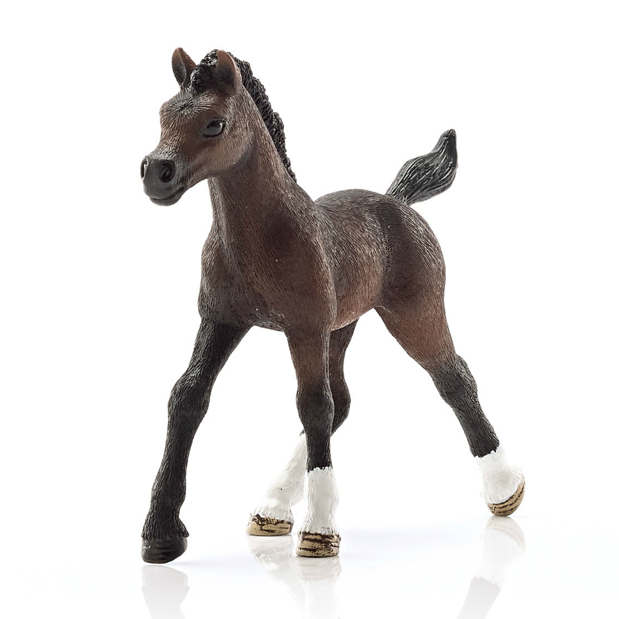 Фигурка Арабский жеребенок, длина 7.9 см фигурки игрушки schleich арабский жеребенок