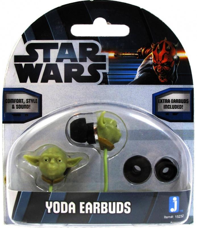Наушники Star Wars Yoda Earbuds 12Наушники, сделанные под дизайн головы мастера Йоды в шлеме! Йода один из старейших и могущественных джедаев во франшизе Звездные Войны. Наушники проводные, 3,5 мм вход, сменные резиновые заглушки.<br>