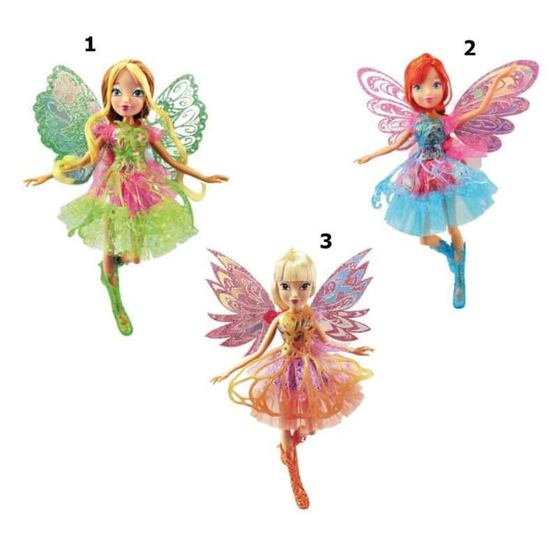 Кукла Баттерфликс-2 - Двойные крылья, 28 см.Кукла Баттерфликс-2 из популярной серии Winx-Club от производителя Winx - это чудесные маленькие феи с двойными крылышками, которые так нравятся маленьким девочкам. Не секрет, что многие фанатки знаменитого мультфильма даже пытаются подражать своим героиням. И уж точно, каждая из них будет рада получить в подарок игрушку из представленной серии.Ноги кукол имеют гнущиеся суставы. Крылья и одежду можно снимать при необходимости.Внимание! Товар представлен в ассортименте:1. Флора (в зеленом:2. Блум (в голубом):3. Стелла (в желтом).Цена указана за 1 шт. Номер желаемой куклы указывайте в комментарии к заказу.Возраст: от 3 летДля девочекМатериалы: пластик, текстиль.Размер игрушки: 28 см.<br>