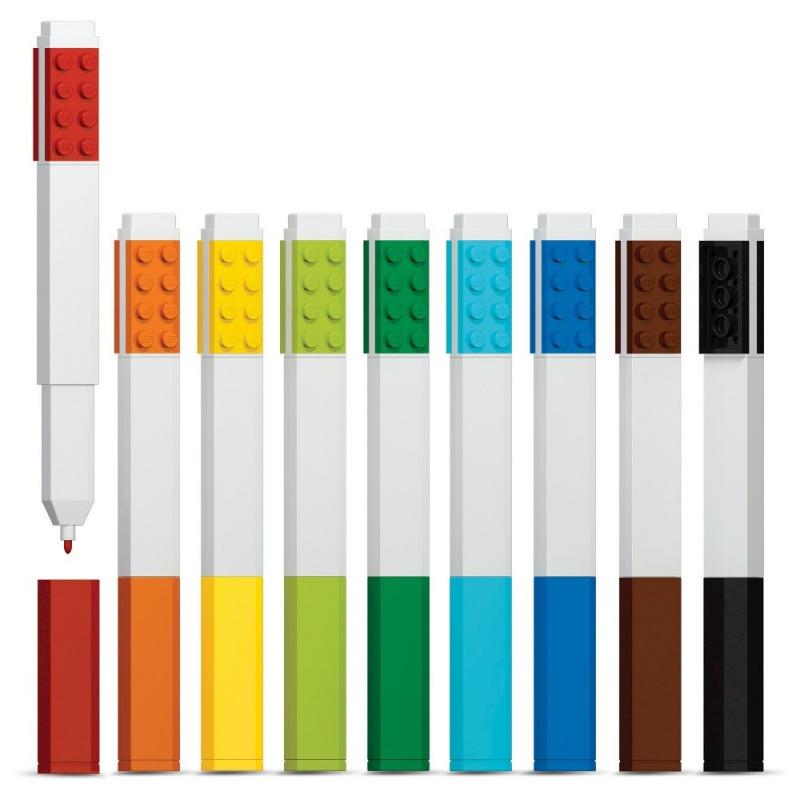 Набор цветных маркеров, 9 шт., LEGO
