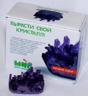 Набор для экспериментов Кими Волшебные кристаллы бумбарам волшебные кристаллы синяя елочка