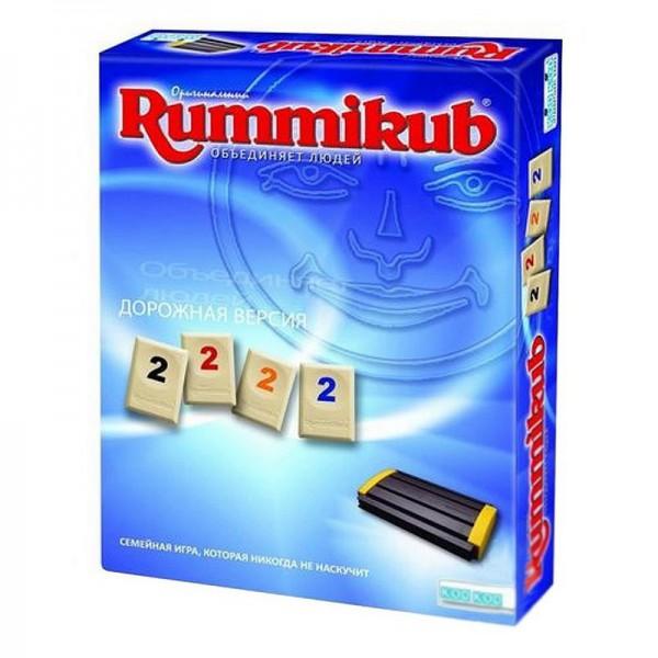 Игра настольная KODKOD Rummikub дорожная версия kodkod настольная игра для детей дело в шляпе
