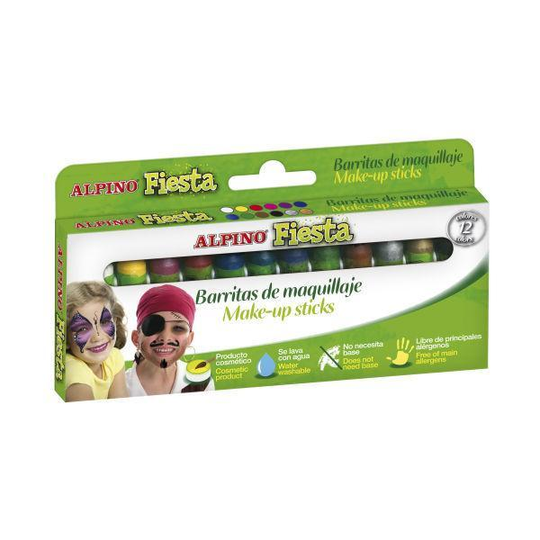 Детский аквагрим Фиеста (макияжные карандаши), 12 x 5 гр., 12 цветовДетский аквагрим «Фиеста» станет прекрасным подарком да вашего ребенка.<br>