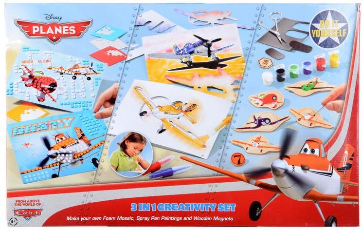 Набор 3 в 1 Totum Disney Pixar PlanesВаш ребенок будет с удовольствие проводить часы за созданием магнитов dusty. Развивайте фантазию ваших детей и творческие навыки с помощью этого набора.<br>