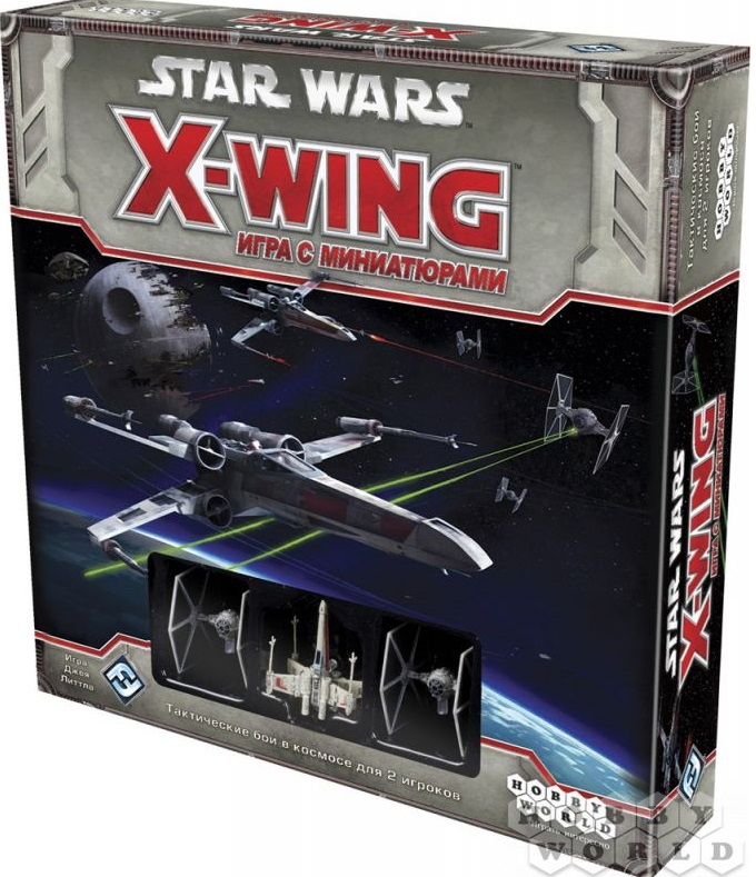 Игра с миниатюрами Hobby World Star Wars: X-wing