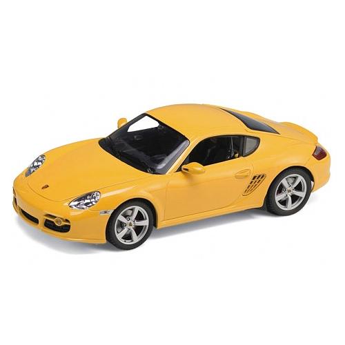 Игрушка модель машины 1:24 Porsche Cayman S rastar 1 24 porsche 918 spyder серебро 71400