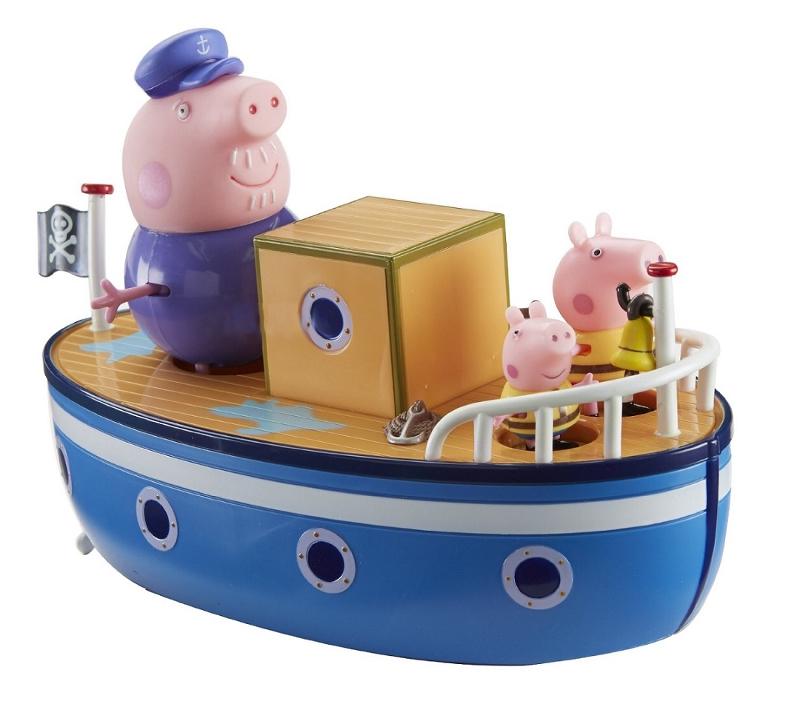 Игровой набор Peppa Pig Морское приключение игровой набор peppa pig семья пеппы папа свин и джорж 2 предмета от 3 лет 20837