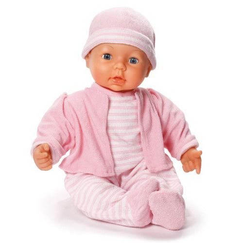 """Dream Baby Кукла-пупс в розовом комлекте, 46 смКукла Dream Baby Function Doll  - это прекрасный подарок для любой девочки. С ней интересно играть в любимую игру - дочки-матери. Она умеет закрывать и открывать глаза, """"пить"""" из бутылочки и спать. Если нажимать на ручки или ножки, она издает разные звуки, свойственные для маленького ребенка. Характеристики Dream Baby Function Doll Изделие изготовлено из материалов высокого качества:пластик;текстиль;высота игрушки - 46 см.Где купить куклу Dream Baby Function Doll  недорого?В нашем интерне-магазине вы можете купить Dream Baby Function Doll по самой привлекательной цене. У нас существует возможность заказать игрушку с доставкой на дом.<br>"""