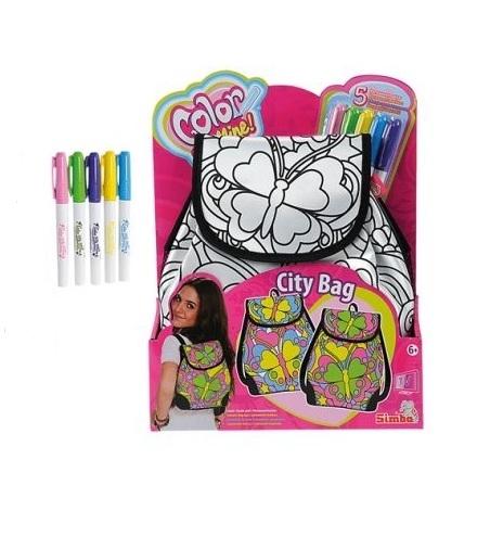 Рюкзак Color Me Mine Летний стиль color me mine рюкзак 5 перманентных маркеров