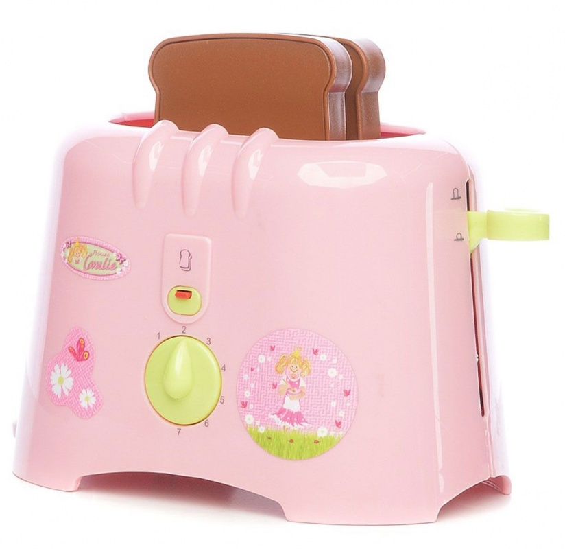 Игровой тостер Принцесса Klein Coralie игровая кофеварка klein coralie