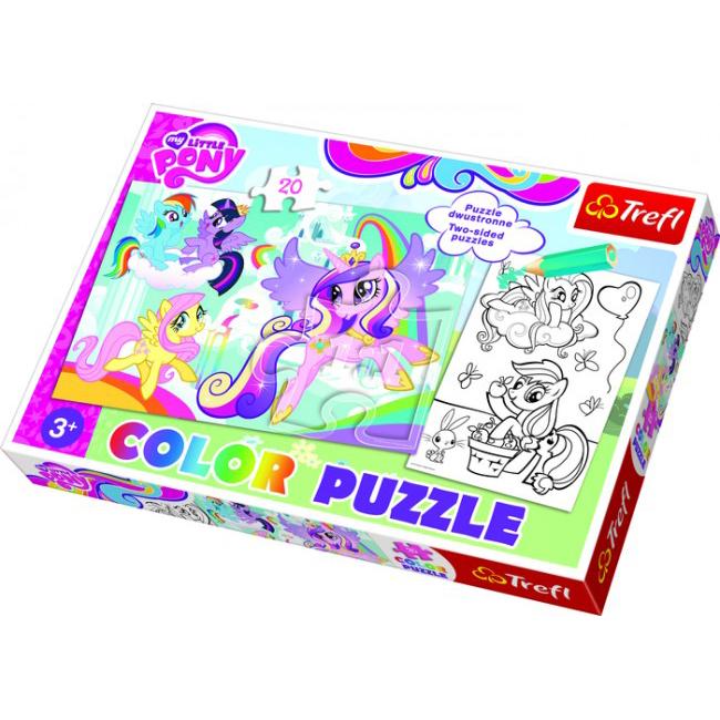 Пазл Color - Майл Литл Пони, 20 элементов пазл color майл литл пони 20 элементов