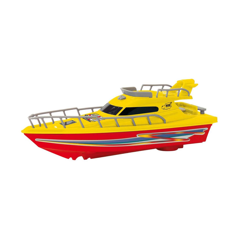 Яхта, 23 смЯхта – прекрасная игрушка, выполненная в реалистичной манере, поэтому очень понравится всем детям. Яхту можно запустить в ванной или в бассейне, чтобы понаблюдать, как она будет плавать, благодаря встроенному мотору, который питается батарейками. С игрушкой можно разыграть много интересных историй или устроить водные гонки.Особенности:- Игрушечная яхта выполнена в реалистичной манере, обладает высокой степенью детализации.- Корпус игрушки имеет насыщенный цвет, корпус украшен яркими наклейками и надписями.- Игрушка оснащена встроенным мотором, благодаря чему она плавает на поверхности воды.- С яхтой дети смогут разыграть интересные игровые сюжеты, которые подскажет им собственная фантазия и воображение.- Изделие исполнено из ударопрочного, нетоксичного пластика, сертифицированного для производства детских товаров.<br>