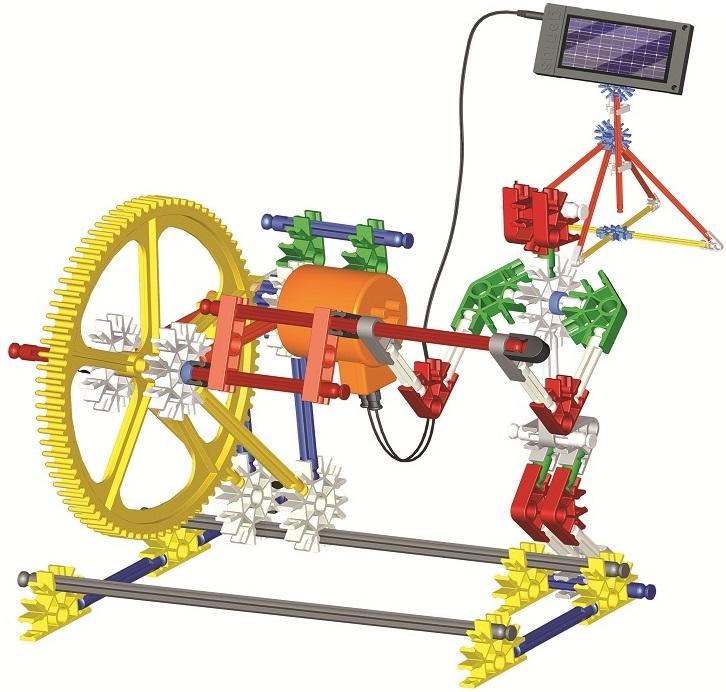 Конструктор Genius ДвигательМеханизм работы такого полезного устройства теперь наглядно будет представлен вниманию маленького исследователя. В процессе произвольной игры развивается зрительная память, внимательность и сосредоточенность и проявляются творческие навыки. Прочные детали изготовлены из экологически чистого материала.<br>