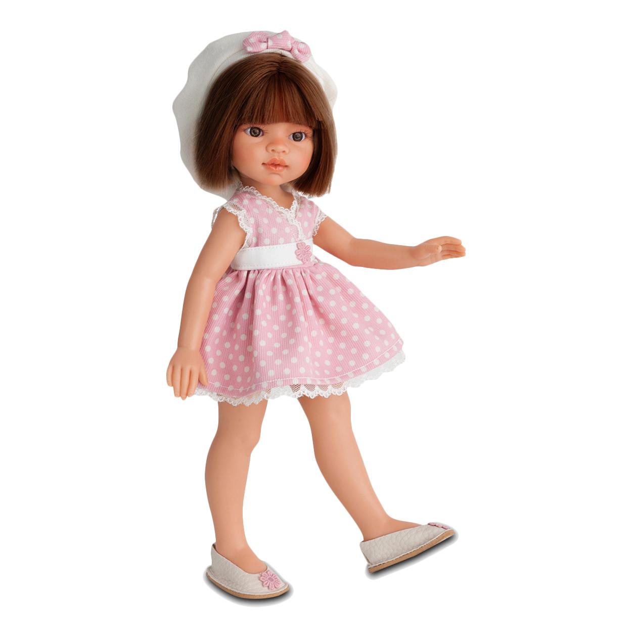 Эмили летний образКукла Эмили от Munecas Antonio обязательно понравится юной любительнице кукол. Куклы Munecas Antonio отличаются своей реалистичностью и качеством, так что для ребенка будет большим удовольствием играть с Эмили. Она одета в летнее платьице и выглядит очень свежо. С такой куклой можно играть в различные сюжетно-ролевые игры, брать ее с собой. Эмили станет настоящим другом и подарит много позитивных эмоций своей обладательнице.<br>