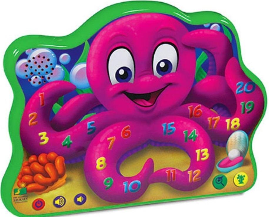 Игрушка развивающая Learning Journey Веселый осьминог learning journey развивающая игрушка веселый слоник