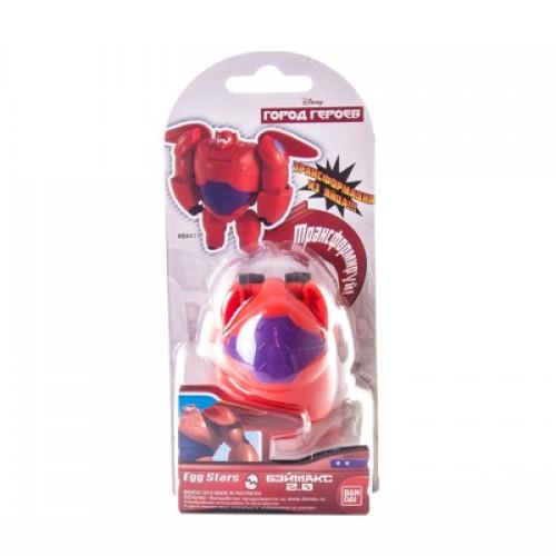 EggStars Яйцо-трансформер БЭЙМАКСЯйцо-трансформер БЭЙМАКС – это оригинальный и необычный подарок для ребенка. Игрушка помогает развивать логическое мышление, мелкую моторику рук и воображение. С ее помощью ваш малыш сможет разыгрывать множество разнообразных историй и сюжетов. В сложенном виде игрушка занимает немного места, ее легко брать с собой, а также носить в руках или в кармане.Безопасные материалыИгрушка изготавливается их экологически чистого пластика. Такой материал не вызывает аллергических реакций и не оказывает негативных воздействий на организм малыша. Прочная структура пластика надежно защищает игрушку от случайных повреждений, что способствует продолжительному сроку службы.Заказ и оплата        Вы сможете приобрести яйцо-трансформер БЭЙМАКС в наших розничных магазинах в Москве или Санкт-Петербурге. Также у нас действует быстрая доставка во все регионы России, чтобы ваш ребенок мог получить игрушку как можно скорее.<br>