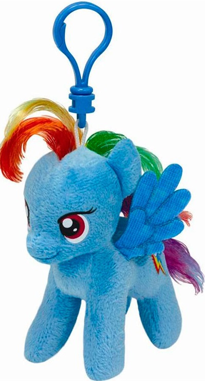 Брелок Ty My Little Pony Rainbow Dash, 15.24 см.  цена