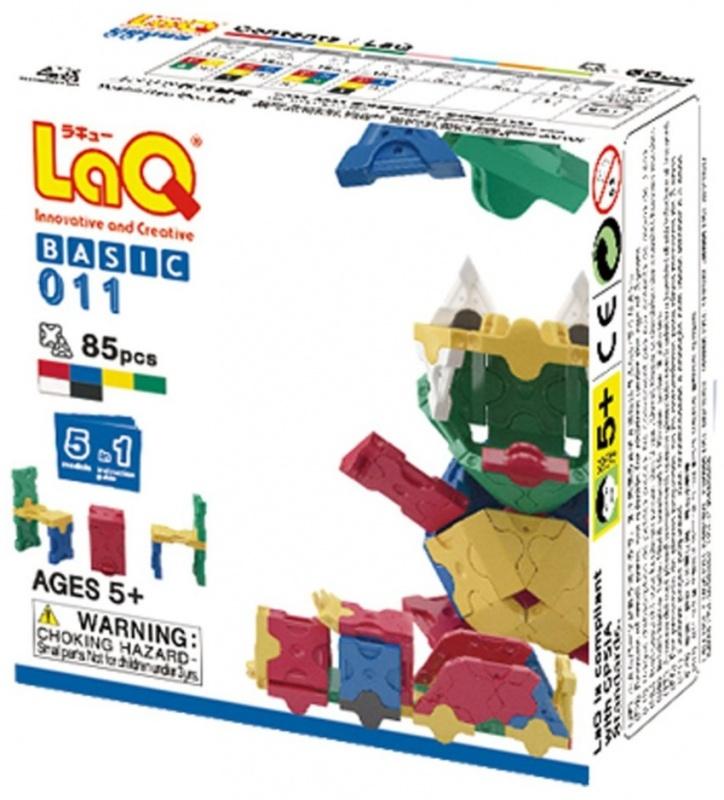 Конструктор LAQ BASIC 011, 85 деталей игрушка laq basic 2400 colors