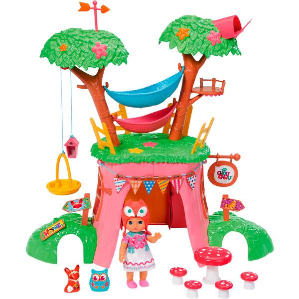 Игрушка CHOU CHOU Мини-лисичка Дерево-домик функц. с куклой, кор. весы напольные tanita bc 731 black