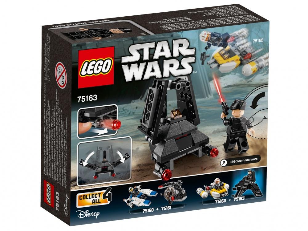Конструктор Lego Star Wars 75163 Микроистребитель Имперский шаттл Кренника lego lego звездные войны микроистребитель имперский шаттл кренника