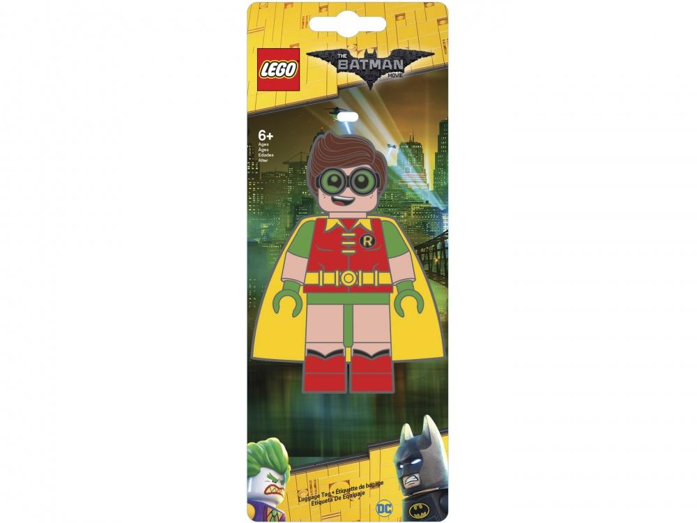 Lego Batman Movie Бирка для багажа RobinБирка для багажа для настоящего фаната серии Batman Movie.<br>