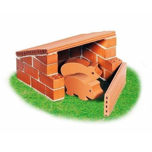 Конструктор Teifoc СвинарникВы сможете построить собственный свинарник с маленькими поросятами, которые сделаны из глины, с помощью этого набора. Конструктор для начинающего строителя.<br>