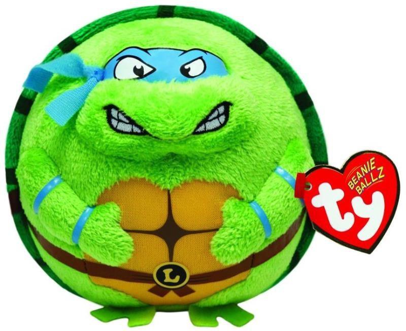 Мягкая игрушка Ty Inc Черепашка-ниндзя Леонардо