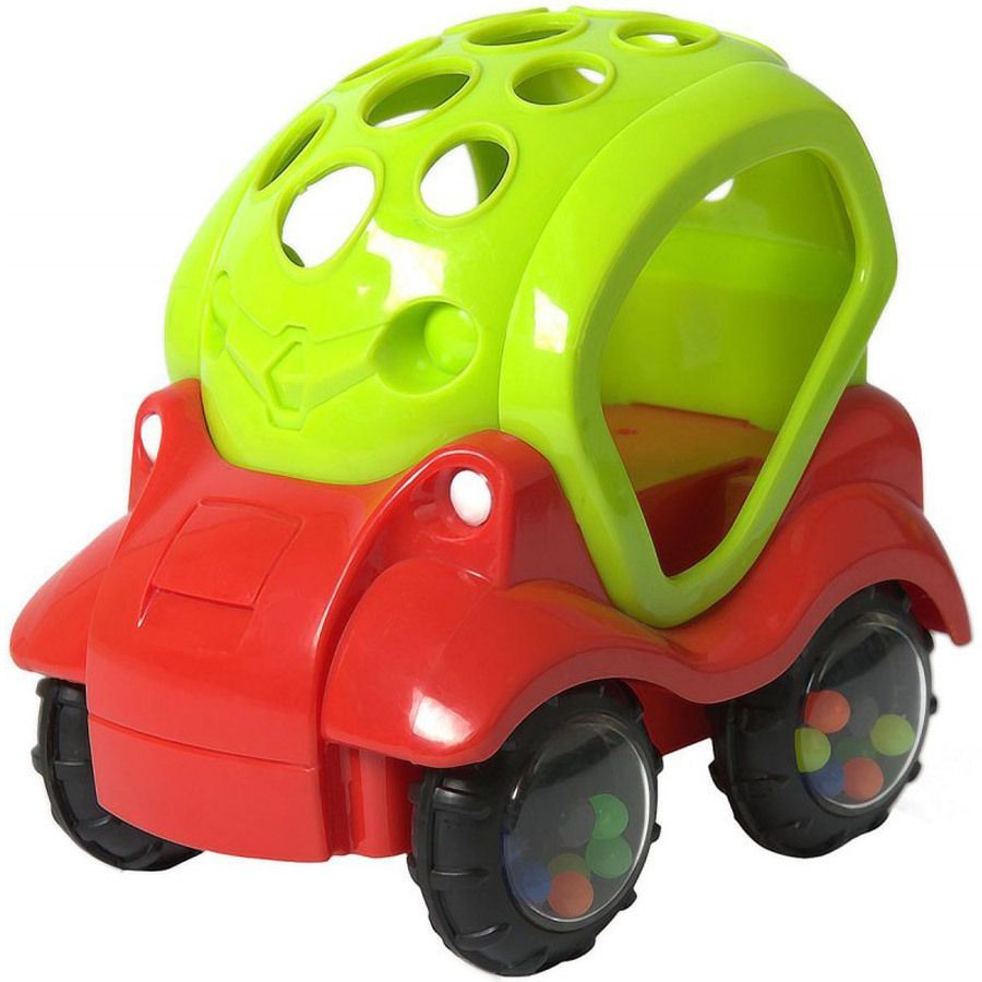 Машинка-неразбивайка зел.краснаяМашинка-неразбивайка Baby Trend - первая машинка малыша!Внутри колёсиков спрятаны разноцветные бусинки, которые издают забавные звуки, когда малыш трясёт машинку.Благодаря уникальной форме игрушку удобно держать маленькими пальчиками.Выполнена из мягкого гибкого пластика.Развивает моторику, слух, зрение.<br>