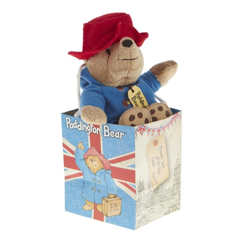 Купить со скидкой Игрушка мягкая Hamleys Мишка Паддингтон в сумке