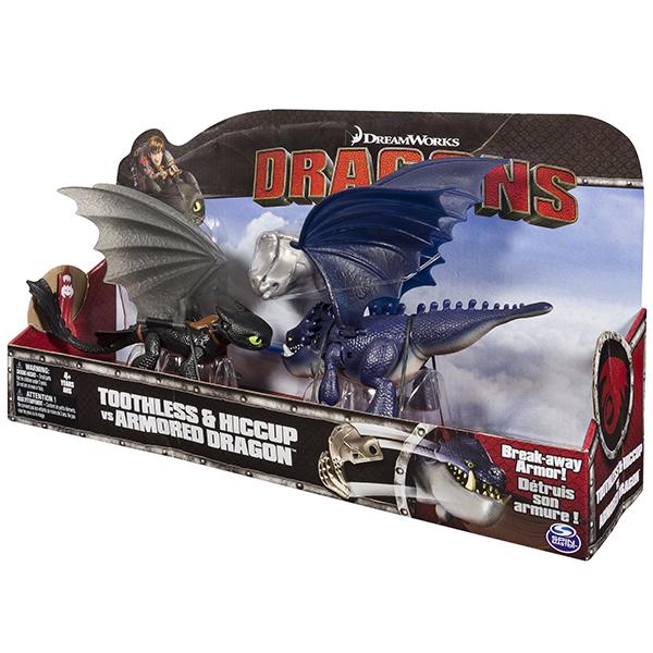 Игрушка Dragons Набор Беззубик и Иккинг против дракона Сказочное Королевство подобный дракону